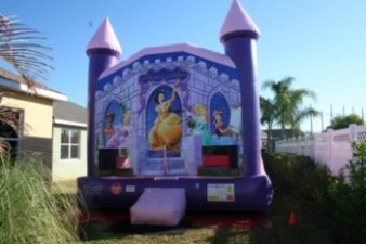 Princess Palace Bounce House